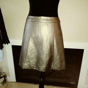 Hollister Faux Leather Skirt